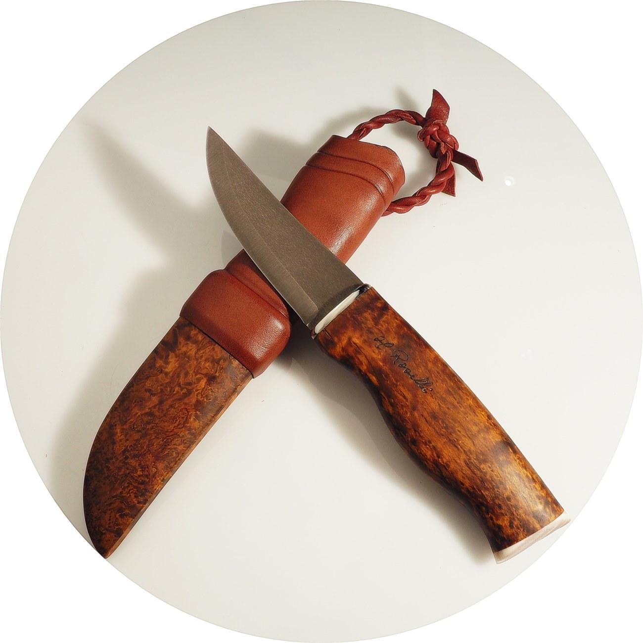Roselli couteau chasseur NALLE acier Wootz