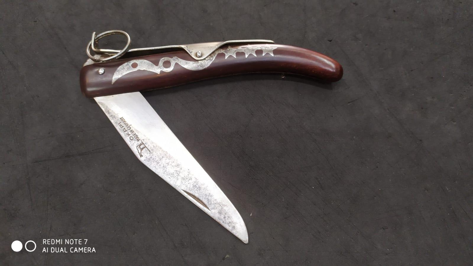 couteau de poche okapi plié
